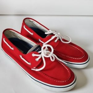 Sperry Top Sider Red Boat Shoe 11.5 #0772962